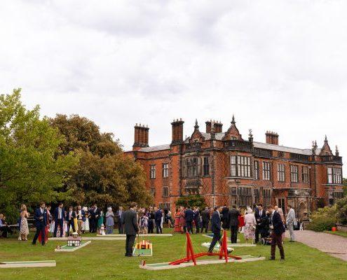 Arley hall wedding