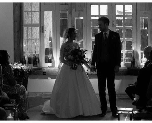 Cheshire wedding videographer at Owen house Wedding Barn